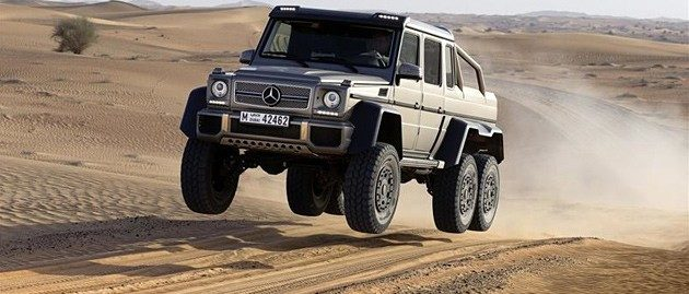 We've tested the 2013 Mercedes-Benz G63 AMG 6×6 Concept